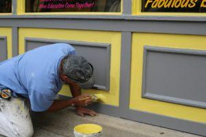 Artisan peintre Bordeaux - Peinture façade